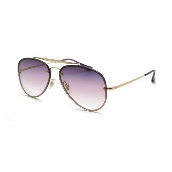 Ray-Ban Aviator Style Blue / Purple Gradient  Lens